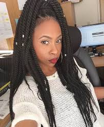 crochet braid ponytail peppy twist hairstyles for black women hairstyle for women