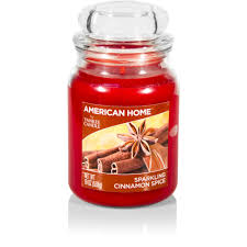 american home by yankee candle sparkling cinnamon spice candle 19