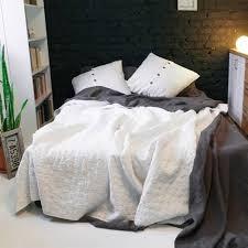 natural linen comforter linen comforter set of antique white color bedding pinterest
