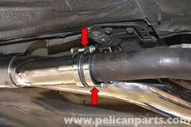 porsche 944 exhaust system porsche 944 turbo fabspeed cat bypass pipe installation 1986 1991