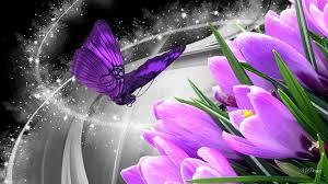 glitter wallpaper with butterflies flowers stars swirls glisten shine spring purple butterfly glitter