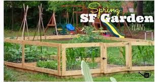 our spring square foot garden plans the kitchen garten