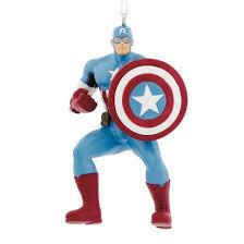 marvel iron captain america ornament target