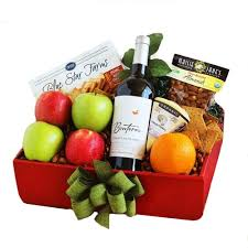 Wine And Cheese Basket Wine And Beer Gift Baskets My Fast Basket Company