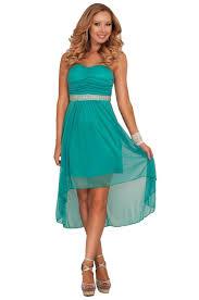 strapless ruched bust empire waist crystal bead bridesmaid sheer