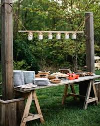 best 25 outdoor buffet tables ideas on pinterest events