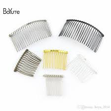 vintage comb 2018 boyute vintage made diy wire comb metal hair comb base