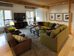 Small Living Room Big Furniture Arranging Furniture In Shaped Room Living Rooms U Shaped
