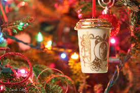 mug ornament the concrete cottage starbucks diy ornament