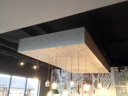 Decorative Pressed Metal Panels Pressed Metal Can Create A Bulkhead Ceiling Feature Cafe Style