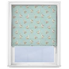 Duck Egg Blue Blind Studio G Geese Duck Egg Roman Blind Roman Blinds Direct