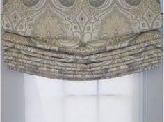 relaxed roman shade pattern beautiful large scale pattern on relaxed roman shade window