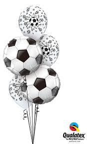 balloons delivery atlanta balloon bouquets soccer banquet balloon bouquet