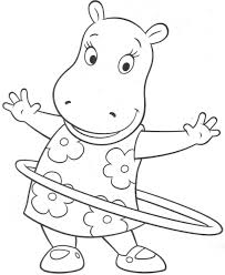 download coloring pages backyardigans coloring pages pablo