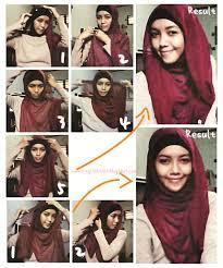 tutorial hijab pashmina tanpa dalaman ninja tutorial hijab segi empat tanpa ciput tutorial hijab segi empat