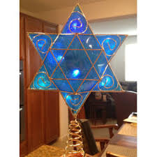 hanukkah bush for sale deluxe hanukkah tree topper