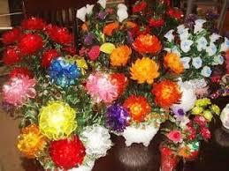cara membuat kerajinan akrilik mompreneur sukses dengan membuat hiasan bunga akrilik