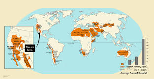 Taklamakan Desert Map World Desert Map Pointcard Me