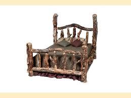Log Bedroom Furniture Aspen Log Bedroom Suites Southern Creek Rustic Furnishings