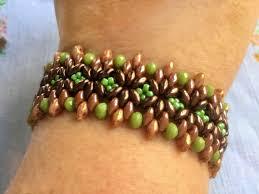 beading bracelet images Free pattern for beaded bracelet maple beads magic jpg