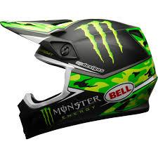 monster energy motocross gear 2017 bell mx 9 mips pro circuit monster energy camo motocross