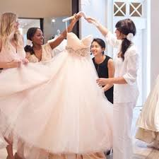 shop wedding dresses can i ask my friend who isn t a bridesmaid to help me shop for my
