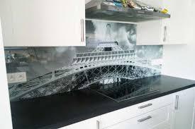 image credence cuisine crédence de cuisine en verre imprimé avec 20 remise nikkel fr