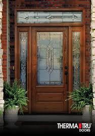 fiberglass front doors with glass entry doors classic craft oak therma tru my entry door and