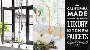 designer faucets kitchen waterstone high end luxury kitchen faucets made in the usa