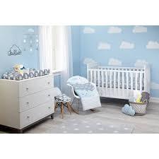Cloud Crib Bedding Happy Clouds 5pc Crib Set Walmart