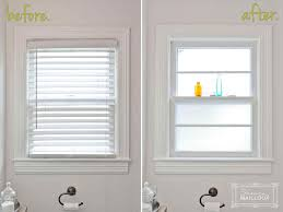 window glass treatments for privacy decor window ideas
