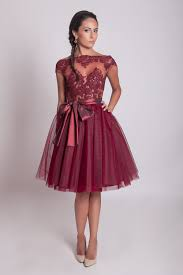 50 s style wedding dresses 50s style lace prom dress burgundy lace dress tulle