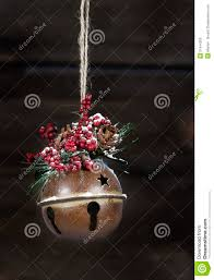rustic jingle bell stock image image 31944209