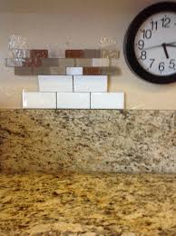 removing kitchen tile backsplash remove 6 granite backsplash before adding tile