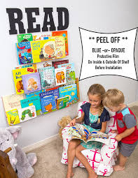 amazon com better the day kids invisible floating bookshelf