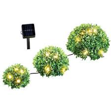 collections etc wbi38006 floral bushes solar path lights set of 3
