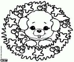 animals christmas coloring pages printable games