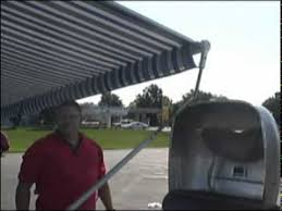 Awnings By Zip Dee How To Opening U0026 Caring For Your Airstream Zip Dee Awning Youtube