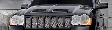 2007 jeep grand grille 2007 jeep grand custom hoods carbon fiber fiberglass