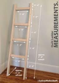 Diy Ladder Shelf Shelves Tutorials by Leaning Ladder Shelf Dimensions Wood Work Diys Tips And
