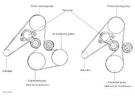 2004 hyundai santa fe serpentine belt routing and timing belt diagrams