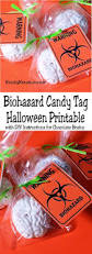 Halloween Goodie Bag Tags Printable by Biohazard Candy Tag Halloween Printable Everyday Parties