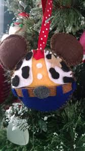 woody felt ornament felt christmas ornaments pinterest