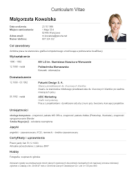 Best Example Of Resume by Best Example Of Resume Curriculum Vitae Free Download Format