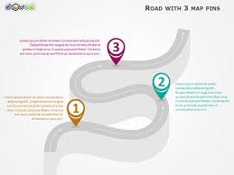 winding road powerpoint template powerpoint presentation templates