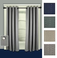 Drapery Panels With Grommets Grand Pointe Room Darkening Thermal Grommet Curtain Panels