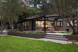 California Ranch House Mid Century Modern Remodel In California Opens Up