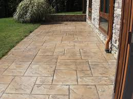 Concrete Patio Floor Paint Ideas by Best Ideas About Colored Concrete Patio On Painting Stamping
