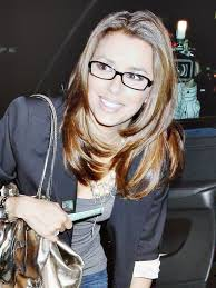 long hairstyles for women with glasses