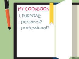 editer un livre de cuisine comment écrire un livre de cuisine 7 é